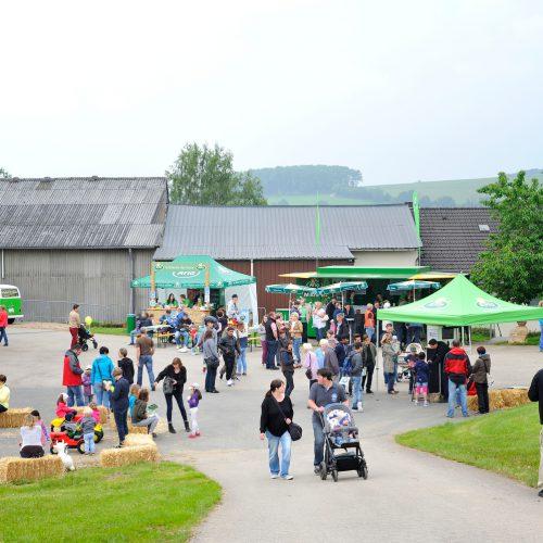 Arla Hoffest in Winringen bei Familie Breuer -